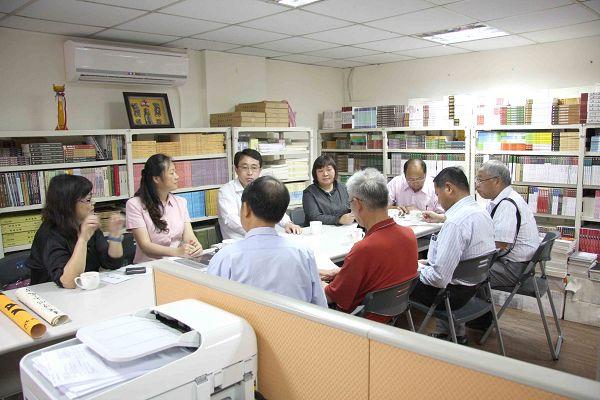 雲南文史館至蘭臺出版社參訪座談2
