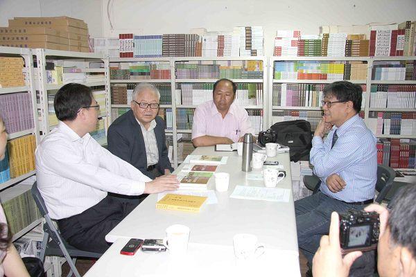 雲南文史館至蘭臺出版社參訪座談7