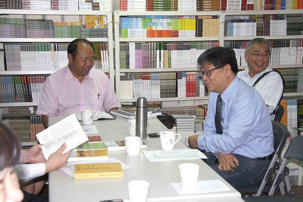 雲南文史館至蘭臺出版社參訪座談6