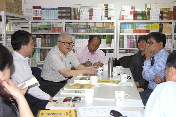 雲南文史館至蘭臺出版社參訪座談8
