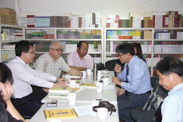 雲南文史館至蘭臺出版社參訪座談9