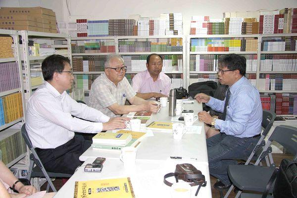 雲南文史館至蘭臺出版社參訪座談11