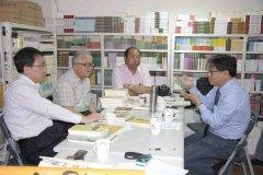 雲南文史館至蘭臺出版社參訪座談13