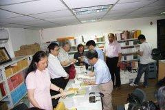 雲南文史館至蘭臺出版社參訪座談17